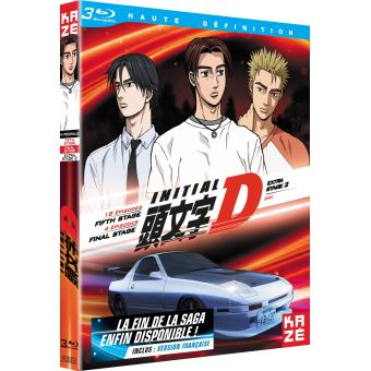 Initial DINITIAL D-FIFTH STAGE+FINAL STAGE + EXTRA STAGE 2-FR-BLURAY