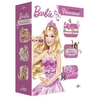 BarbieLa Princesse et la Popstar - Coeur de Princesse - La magie de la Mode Coffret 3 DVD