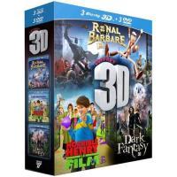 Horrible Henry - Ronal le barbare - Dark Fantasy - Coffret Blu-Ray 3D