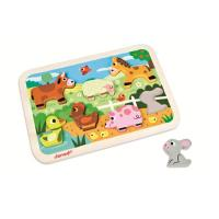 JANOD CHUNKY PUZZLE FERME