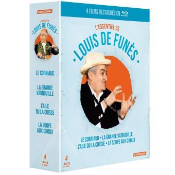 Coffret Louis de Funes 4 films Blu-ray