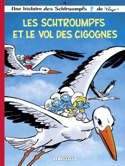 Les Schtroumpfs Lombard - tome 38 - Les Schtroumpfs et le vol des cigognes