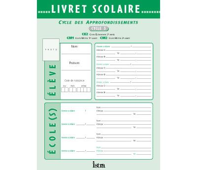 Livret Scolaire Istra Cycle 3