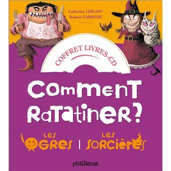 Coffret Comment ratatiner les sorcières et les ogres - Livre CD