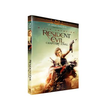 Resident EvilResident Evil 6 : The Final Chapter Blu-ray