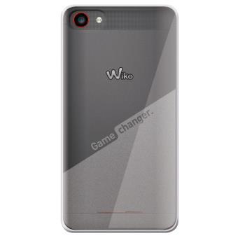 Coque Wiko Game Changer Transparent Film Protecteur pour Wiko Jerry