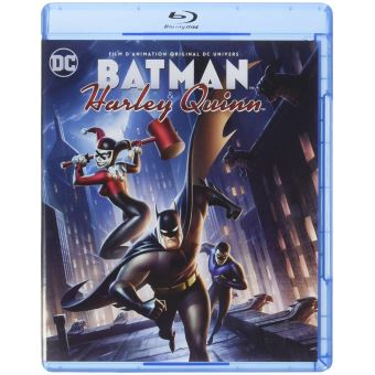 Batman animated seriesBatman and Harley Quinn Blu-ray