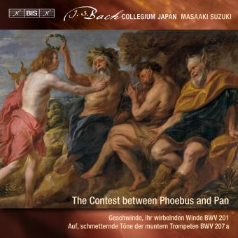 Secular cantatas vol 9/the contest between phoebus and pan