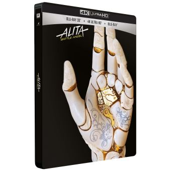 Alita Battle AngelAlita Battle Angel Exclusivité Magasin  Blu-ray 4K Ultra HD