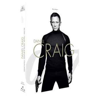 James BondCoffret James Bond Daniel Craig 4 films Blu-ray
