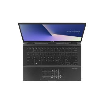 "PC Ultra-Portable Asus ZenBook Flip UX463FL-AI025R 14"" Ecran tactile Intel Core i7 16 Go RAM 1 To SSD Noir"