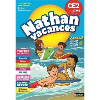 Nathan Vacances Primaire CE2 vers le CM1 8/9 ans
