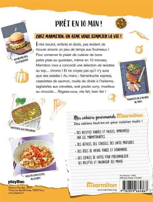 Menu De Noel Facile Et Rapide Marmiton.Marmiton Cahier Gourmand Pret En 10 Minutes