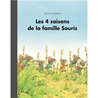 La famille SourisLes 4 saisons de la famille souris