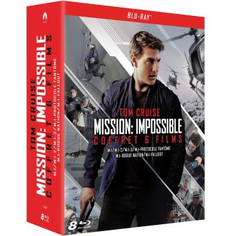 Mission : ImpossibleCoffret Mission : Impossible L'intégrale des 6 films Blu-ray