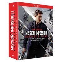 Coffret Mission : Impossible L'intégrale des 6 films Blu-ray