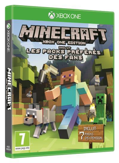 Minecraft : Les Packs Préférés des Fans Xbox One
