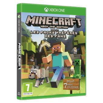 MINECRAFT XBOX ONE - LES PACKS PREFERES