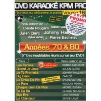 Karaoké KPM Pro Années 70 & 80 & 90 Coffret DVD