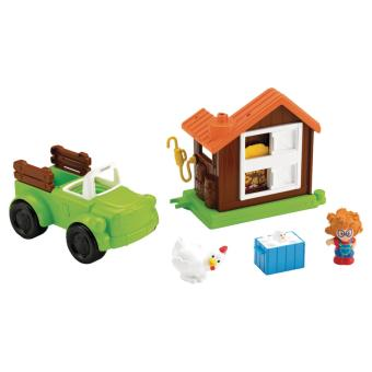 camion agricole et poulailler little people fisher price camion achat prix fnac. Black Bedroom Furniture Sets. Home Design Ideas