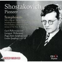 Chostakovitch : Symphonies 1, 2, 3