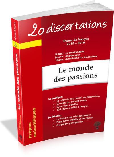 20 dissertations sur le thème de français en prépas scientifiques