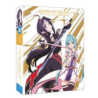 Sword Art OnlineSword Art Online II Arc 2 et 3 Blu-ray