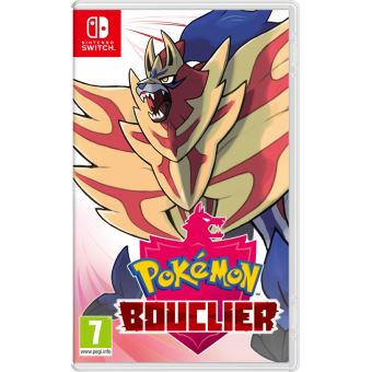 Pokémon Bouclier Nintendo Switch