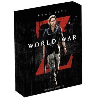World War Z Coffret Combo Blu-Ray 3D + DVD Edition Limitée et Numérotée à 3000 exemplaires