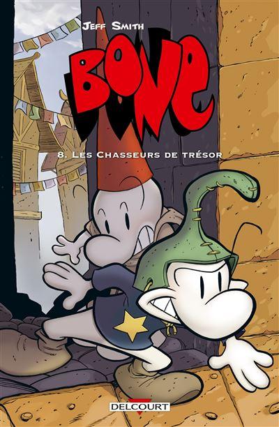 Bone T08 Les chasseurs de trésor (Version couleur)