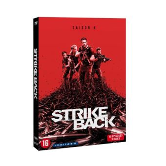 Strike BackStrike Back : Project Dawn Cinemax Saison 6 DVD