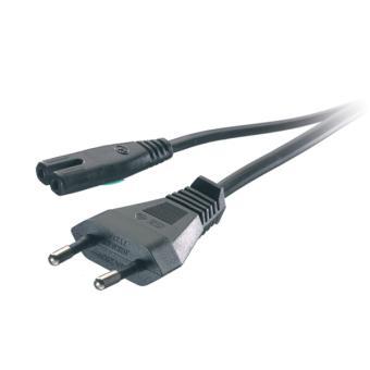 Câble Adaptateur Vivanco Cordon d'alimentation secteur Bi-Polaire 1,25 mètres