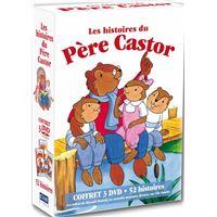 Coffret Les histoires du Père Castor DVD