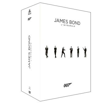 James BondCoffret James Bond 24 films DVD