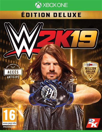 WWE 2K19 Édition Deluxe Xbox One
