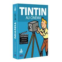 Coffret Tintin fait son cinéma DVD