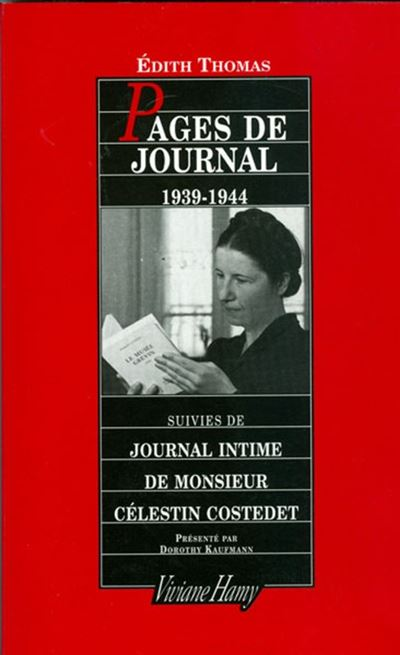 Pages de journal 1939-1944