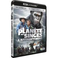 La Planète des Singes : L'affrontement Blu-ray 4K Ultra HD