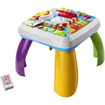 Table bilingue d veil programmable fisher price jeu d 39 veil achat prix fnac - Fisher price table d activite ...