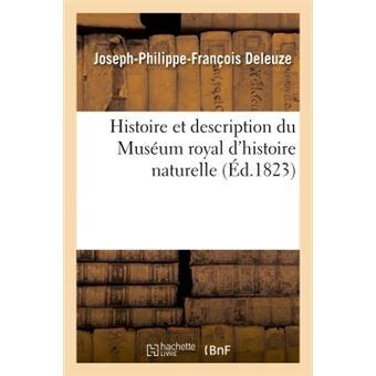 Histoire et description du Muséum royal d'histoire naturelle