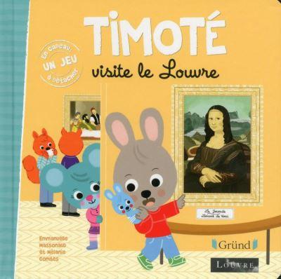 Timoté visite le Louvre - 9782324022166 - 3,99 €