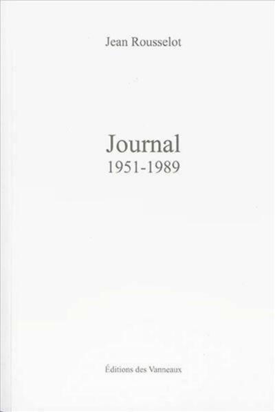 Journal, 1951-1989
