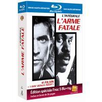 L'Arme fatale - L'intégrale - Coffret 4 films - Blu-Ray - Edition Spéciale Fnac