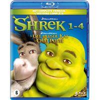 Shrek 1-4+Puss in boots box-BIL-BLURAY