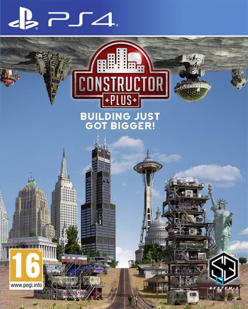 Constructor Plus PS4