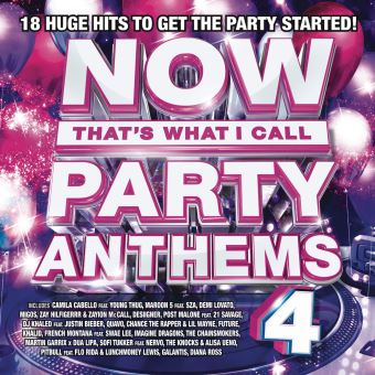 Now Party Anthems 4
