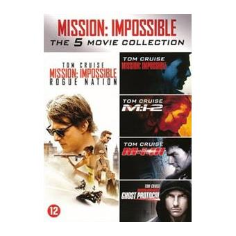 MISSION: IMPOSSIBLE 1-5-BOX 5DVD-NL