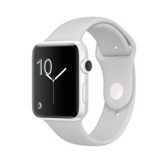 Apple Watch Edition 42 mm Boîtier en Céramique Blanc avec Bracelet Sport Neige