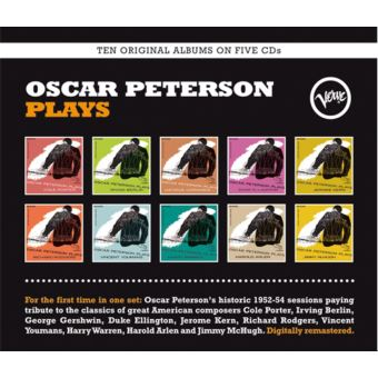 Oscar Peterson Plays Coffret Inclus un livret de 28 pages