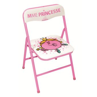 chaise pliante enfant madame princesse tropico achat prix fnac. Black Bedroom Furniture Sets. Home Design Ideas